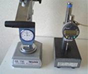 硬度計および測圧計