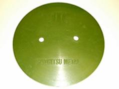 コンプレッション成型機で製作した製品(大型部品)